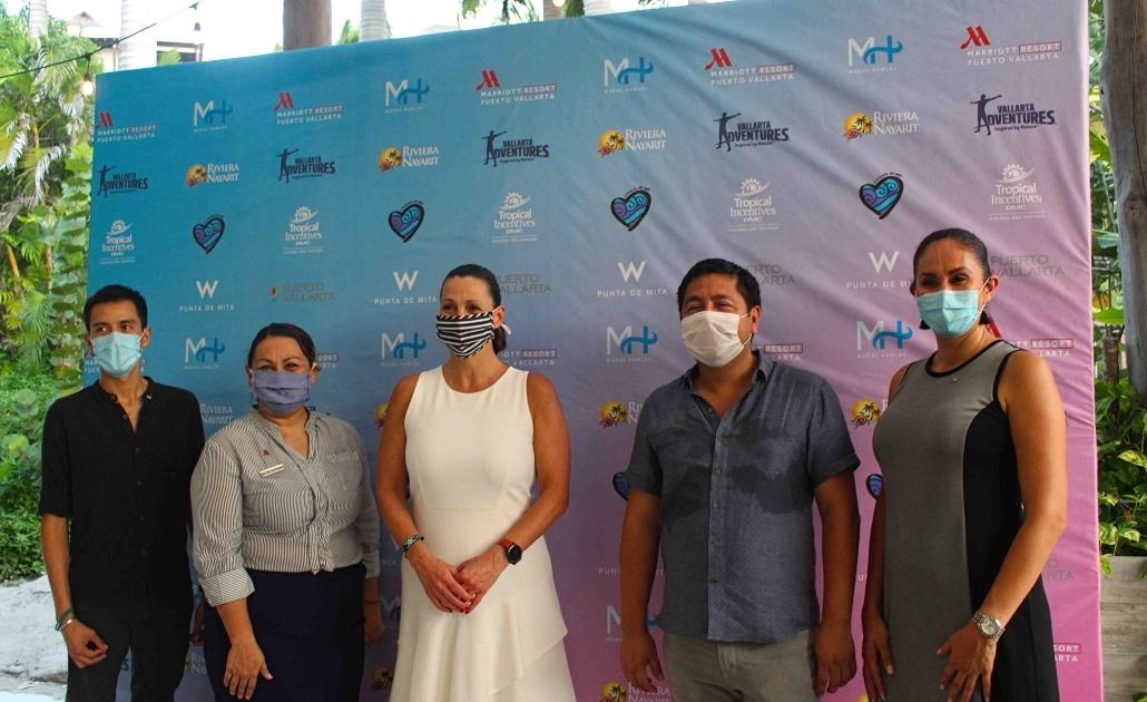 press conference, Mariel Hawley, Riviera Nayarit, hotel W Punta de Mita
