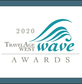 TravelAge West 2020, logo