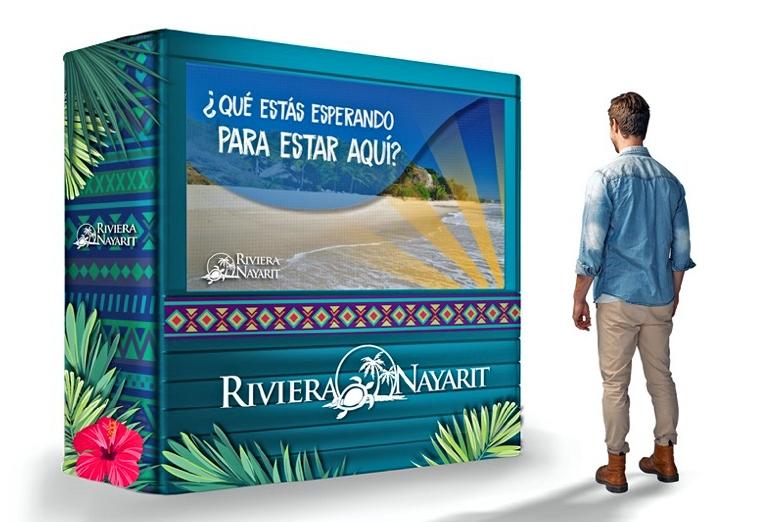 Win with the Riviera Nayarit, BTL Campaign