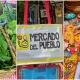 collage, fotos, bolsa, mercado, artesanías