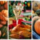 collage, Thanksgiving Day, food