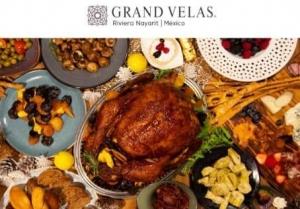 Thanksgiving day, food, turkey, Grand Velas Riviera Nayarit