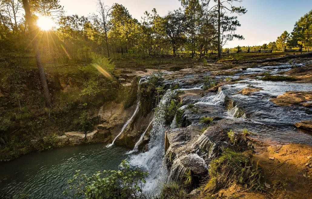 Sierra de Vallejo, water, fall